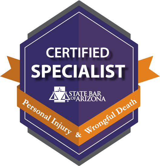 Certified Specialist: Personal Injury & Wrongful Death