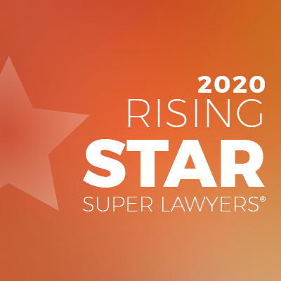 Super Lawyers - Rising Star 2020